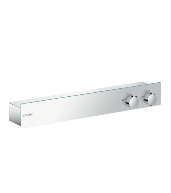 Фото - Термостат hansgrohe ShowerTablet 600 для душа на 2 потребителя, хром 13108000 термостат для ванны hansgrohe showertablet 600 13109400