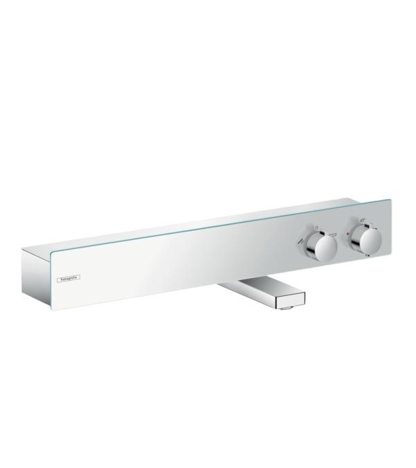 Фото - Термостат hansgrohe ShowerTablet 600 для ванны, хром 13109000 термостат для ванны hansgrohe showertablet 600 13109400