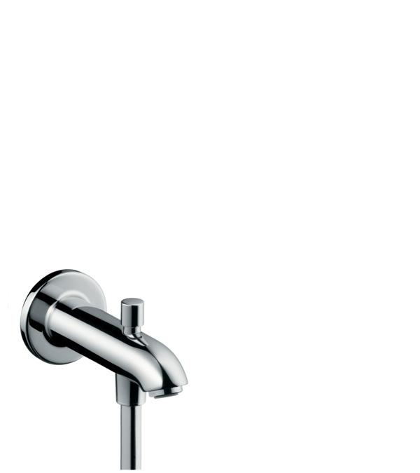 Излив hansgrohe на ванну E 152 с переключателем на душ 13423000