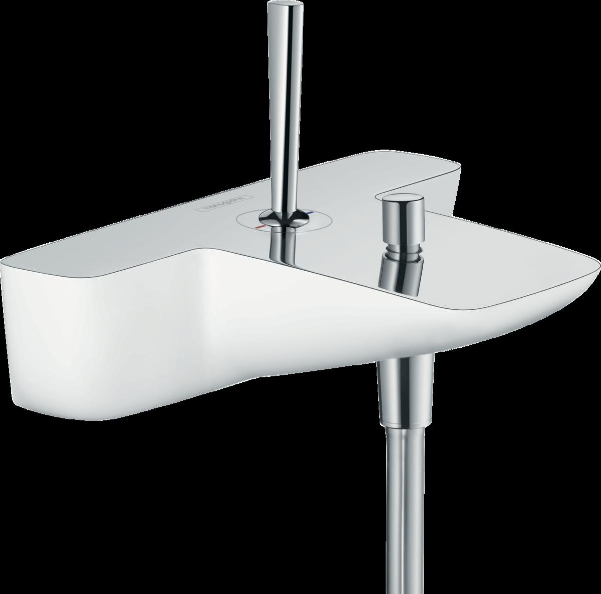 Смеситель hansgrohe PuraVida для ванны 15472400 смеситель для ванны hansgrohe puravida 15445000