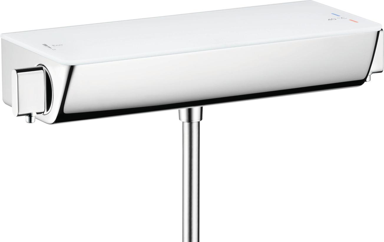 Термостат hansgrohe Ecostat Select для душа 13161400, белый/хром