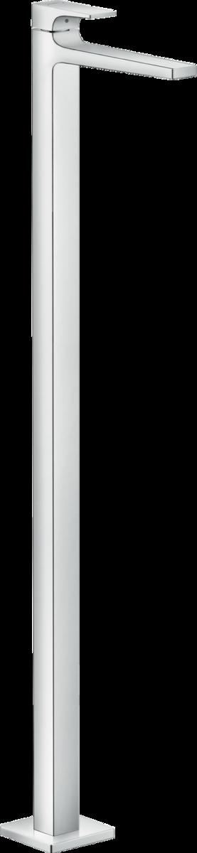 Смеситель для раковины hansgrohe Metropol однорычажный напольный без сливного гарнитура, хром 32530000 смеситель для ванны и душа hansgrohe metropol 74540000 хром