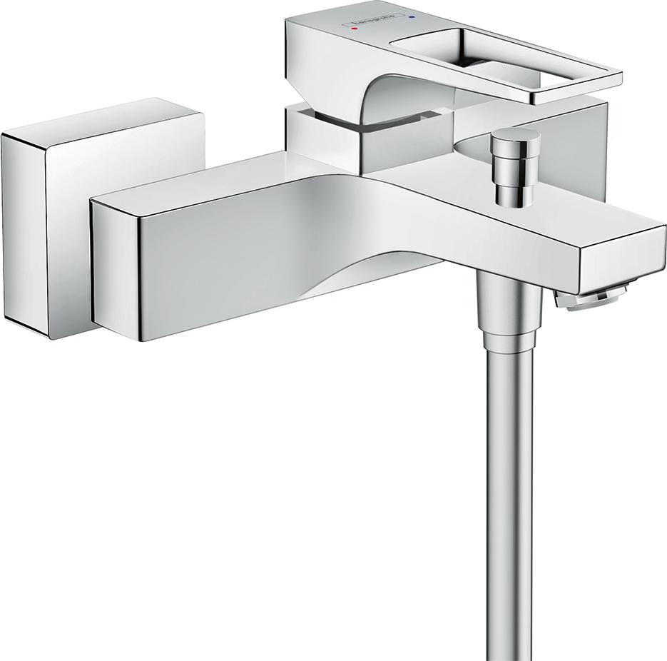 Фото - Смеситель hansgrohe Metropol для ванны 74540000 смеситель для ванны hansgrohe metropol classic 31340090