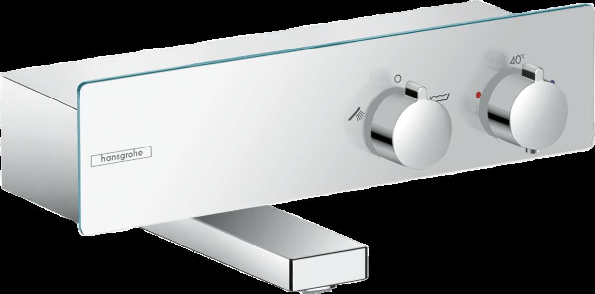 Фото - Термостат hansgrohe ShowerTablet 350 для ванны, хром 13107000 термостат для ванны hansgrohe showertablet 600 13109400