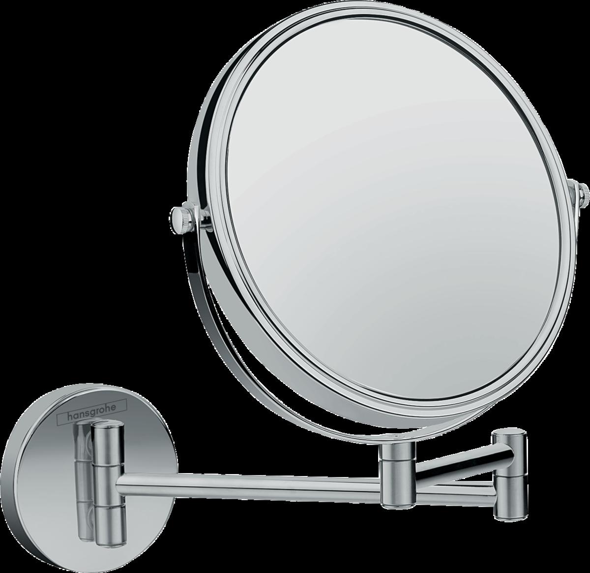 Косметическое зеркало Hansgrohe Logis Universal 73561000, трехкратное увеличение зеркало косметологическое hansgrohe logis universal 73561000