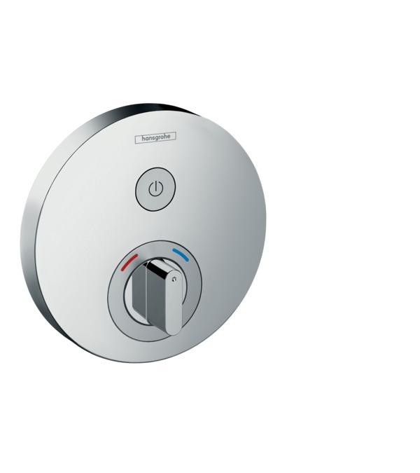 Фото - Смеситель hansgrohe ShowerSelect S для душа 15747000 переключатель потоков для душа hansgrohe showerselect 15736400