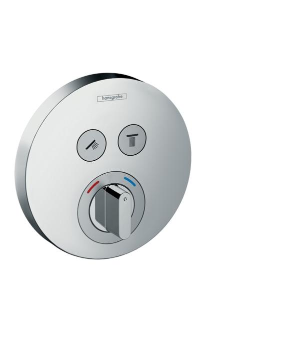 Фото - Смеситель hansgrohe ShowerSelect S для душа и ванны 15748000 переключатель потоков для душа hansgrohe showerselect 15736400