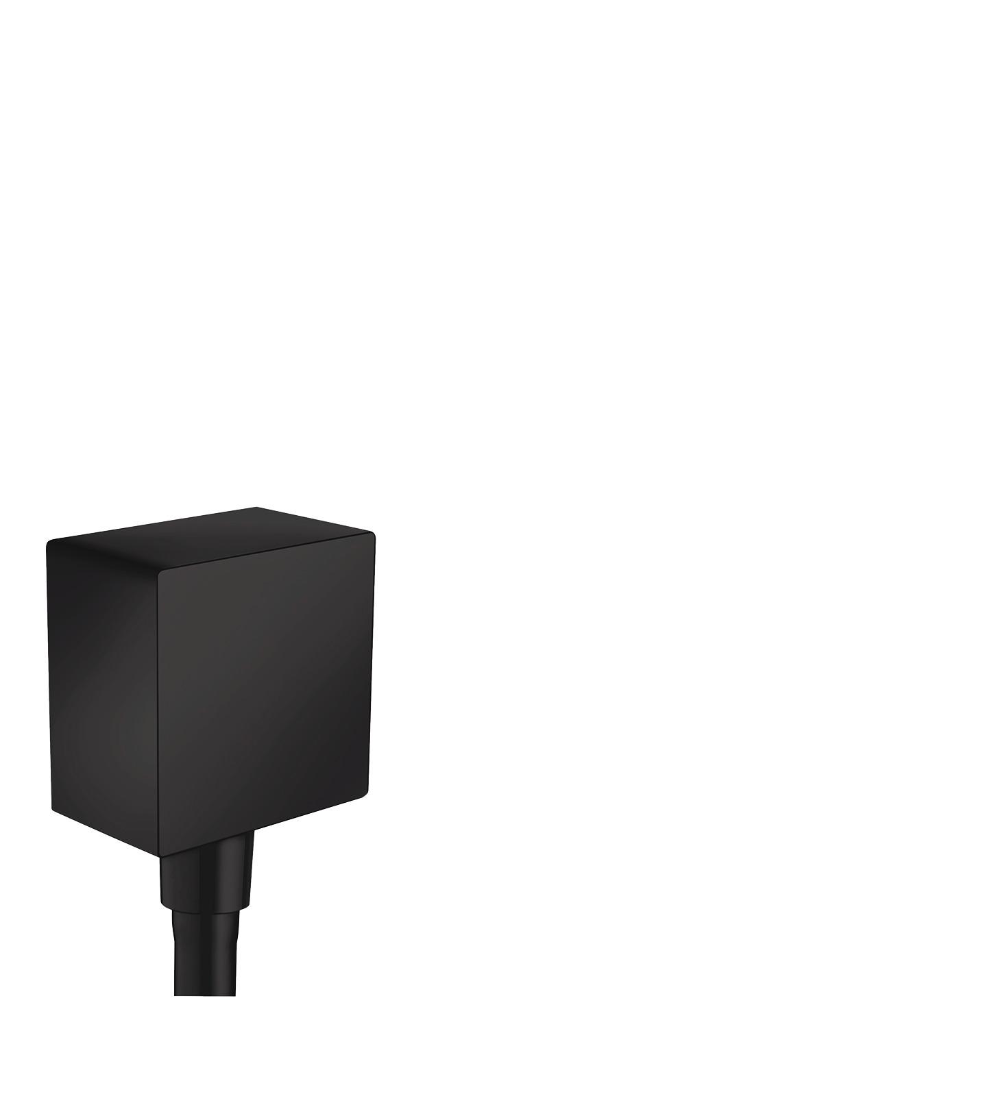 Шланговое подсоединение hansgrohe FixFit Square с клапаном обратного тока 26455670