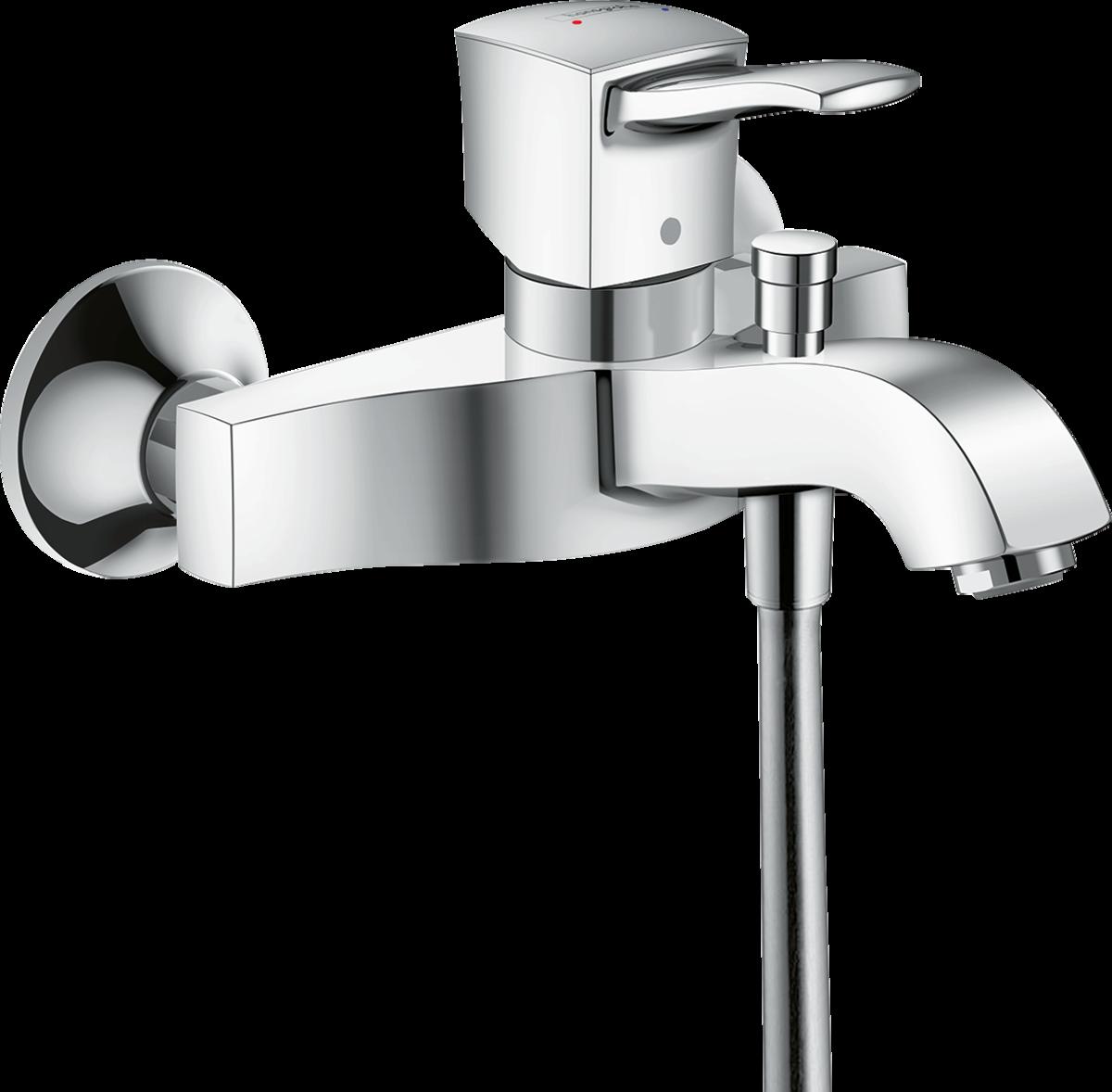 Фото - Смеситель hansgrohe Metropol Classic для ванны 31340000 смеситель для ванны hansgrohe metropol classic 31340090