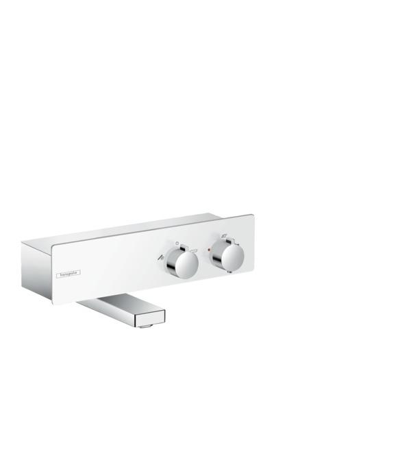 Термостат hansgrohe ShowerTablet 350, ВМ, для душа, белый/хром 13107400 смеситель для душа hansgrohe showertablet 13102000 с термостатом хром