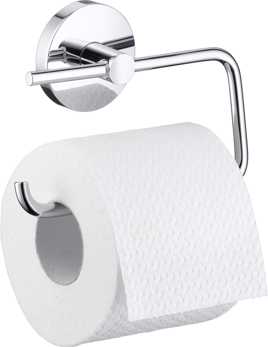 Держатель туалетной бумаги hansgrohe Logis 40526000 держатель для туалетной бумаги hansgrohe logis 40517000