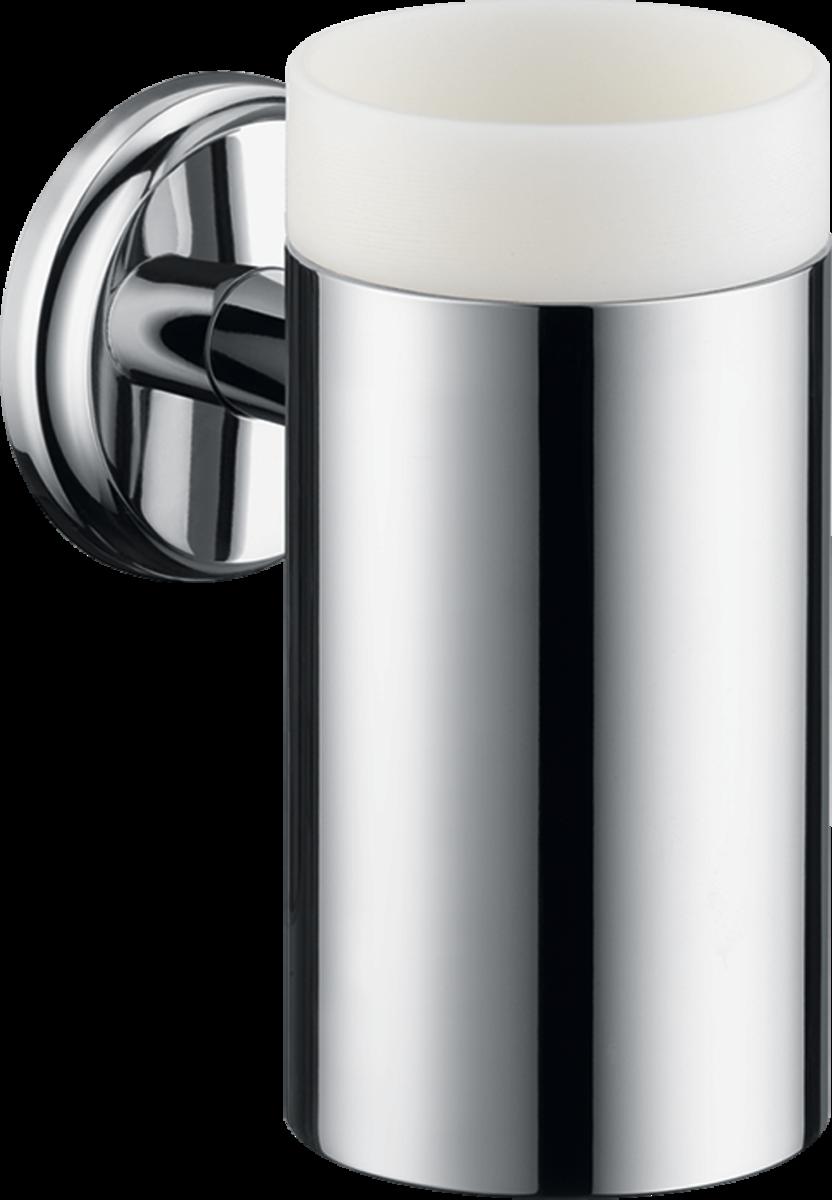 Стаканчик для зубных щеток hansgrohe Logis Classic 41618000 hansgrohe logis 40518000 стаканчик из стекла