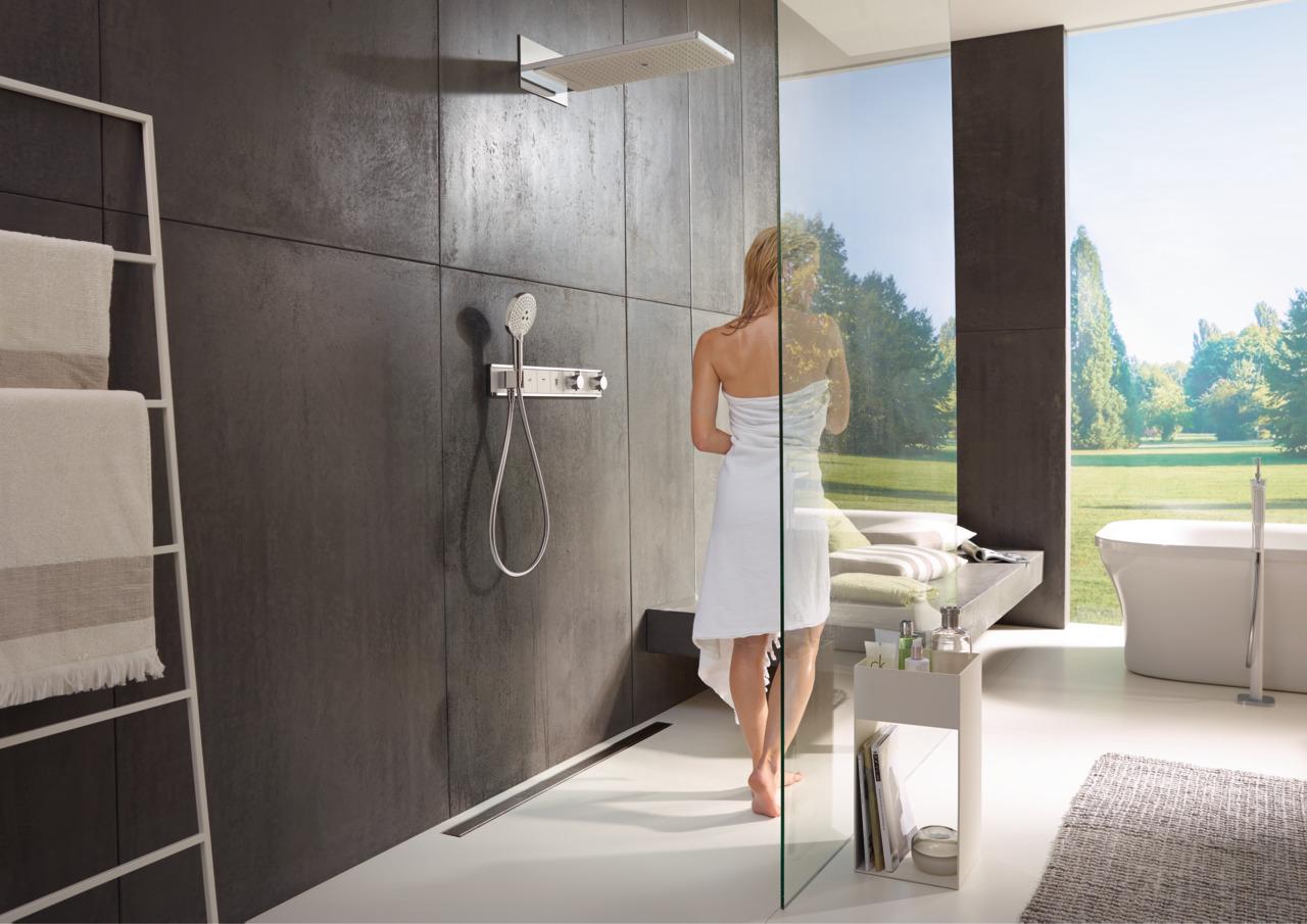 Смеситель hansgrohe PuraVida для ванны 15473000 излив hansgrohe puravida для ванны 15412000