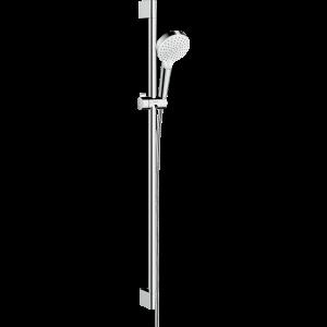 Душевой набор hansgrohe Crometta Vario EcoSmart 90, белый/хром 26538400