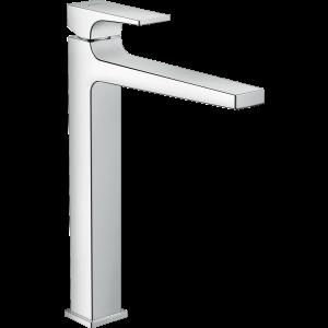 Смеситель для раковины 260, однорычажный, с рычаговой рукояткой, со сливным клапаном Push-Open, для раковины в форме таза, хром 32512000