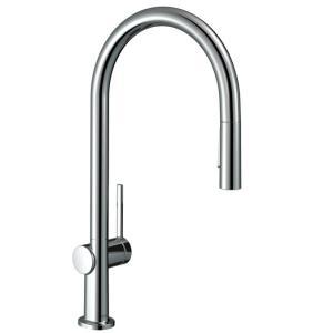 Кухонный смеситель hansgrohe Talis M54, однорычажный, 210, с вытяжным душем, 2jet 72800000