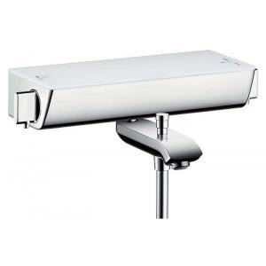Термостат hansgrohe Ecostat Select для ванны 13141400, белый/хром