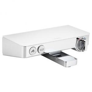 Термостат hansgrohe Ecostat Select для ванны 13151400, белый/хром