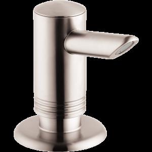 Диспенсер Hansgrohe A41 для жидкого мыла или средства для мытья посуды, под сталь 40418800