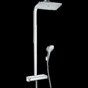 Душевая система hansgrohe Raindance Select E 360 Showerpipe с термостатом, хром 27112000