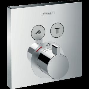 Термостат hansgrohe ShowerSelect для душа 15763000, хром