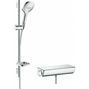 Душевой набор hansgrohe Ecostat Select/Raindance Select E 120 3jet/Combi 27038400