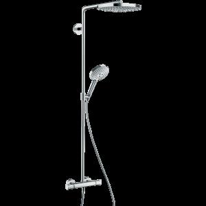 Душевая система hansgrohe Raindance Select S 240 2jet Showerpipe с термостатом 27129000