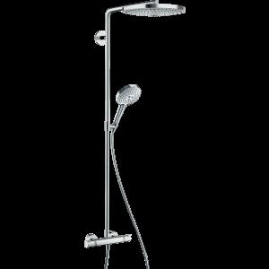 Душевая система hansgrohe Raindance Select S S300 2jet Showerpipe с термостатом 27133400