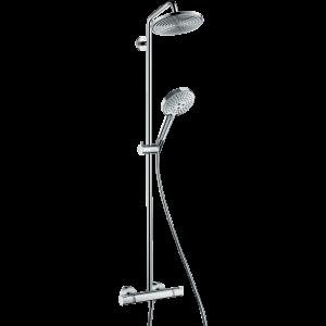 Душевая система hansgrohe Raindance Select S 240 Showerpipe с термостатом, хром 27115000