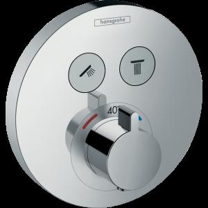 Термостат hansgrohe ShowerSelect S для душа 15743000, хром