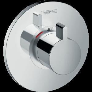 Термостат hansgrohe Ecostat S для душа 15756000, хром