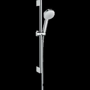 Душевой набор hansgrohe Crometta 100 Vario 65, белый/хром 26651400