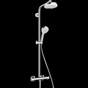 Душевая система hansgrohe Crometta 160 1Jet с термостатом 27264400