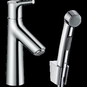 Набор для биде Hansgrohe Talis S, со сливным клапаном Push-Open 72290000, хром