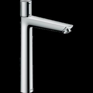 Смеситель hansgrohe Talis Select E для раковины с высоким изливом и сливным гарнитуром, хром 71752000
