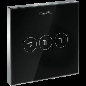 Модуль hansgrohe ShowerSelect Glass для душа 15736600, черный/хром