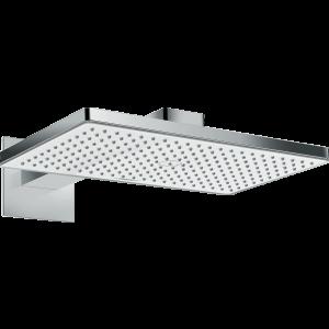 Верхний душ hansgrohe Rainmaker Select 460 1jet с держателем 24003400, белый/хром