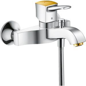 Смеситель hansgrohe Metropol Classic для ванны 31340090, хром/под золото