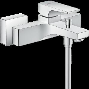 Смеситель hansgrohe Metropol для ванны, однорычажный, внешнего монтажа, с рычажной рукояткой 32540000, хром