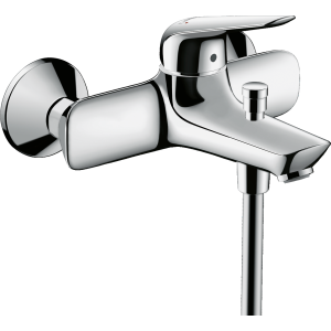 Смеситель hansgrohe Novus для ванны однорычажный 71040000, хром