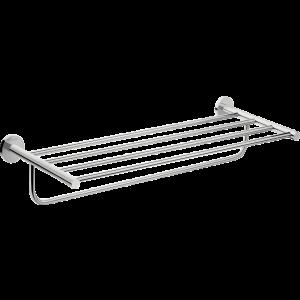 Полка для полотенец с держателем Hansgrohe Logis Universal, 600 мм. 41720000, хром