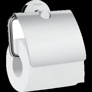 Держатель туалетной бумаги с крышкой Hansgrohe Logis Universal 41723000, хром