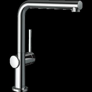 Кухонный смеситель Hansgrohe Talis M54 однорычажный, 270, 1jet 72840000, хром
