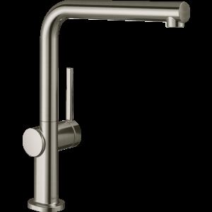 Кухонный смеситель Hansgrohe Talis M54 однорычажный, 270, 1jet 72840800, под сталь