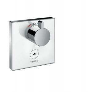 Термостат hansgrohe ShowerSelect Highfow для душа с отдельным выводом для ручного душа 15735400, белый/хром