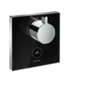 Термостат hansgrohe ShowerSelect Highfow для душа с отдельным выводом для ручного душа 15735600, черный/хром