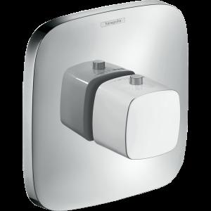 Термостат hansgrohe PuraVida Highflow для ванны 15772400, белый/хром