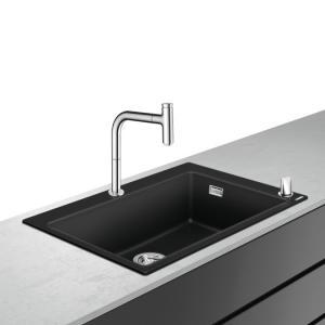 Кухонная комбинация hansgrohe C51-F660-07 43218000, хром
