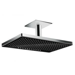 Верхний душ встраиваемый Hansgrohe Rainmaker Select 460 2jet 24004600, черный/хром