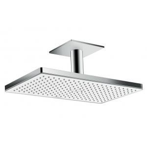 Верхний душ встраиваемый Hansgrohe Rainmaker Select 460 1jet EcoSmart 24012400, белый/хром